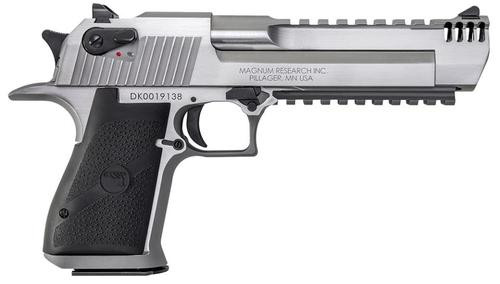 "Desert Eagle Mark XIX .50 AE, 6"" Barrel, SS, Muzzle Brake, 7rd Mag"