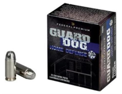 Federal Guard Dog Home Defense 9mm, 105 Gr, 20rd Box