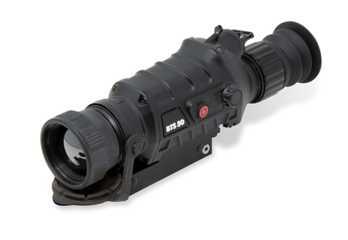 Burris BTS 50 Thermal Riflescope Matte Black 3.3-13.2x 50mm 10 Interchangeable 400x300, 50Hz Resolution Digital 2x/4x Zoom