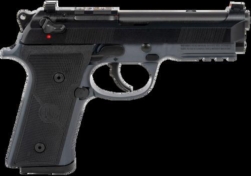 "Beretta 92X RDO FR Centurion 9mm, 4.25"" Barrel, Decocking Safety, Optic Ready, Black Bruniton Steel Slide, Vertec-Style, Thin Grips. 3x15rd"