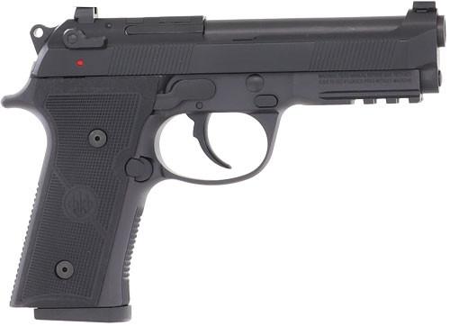 "Beretta 92X RDO GR Centurion Mid Size 9mm, 4.3"" Barrel, Black, Fixed Front Sights, Decocker, Front Picatinny Rail, Optic Ready, 2x15rd"