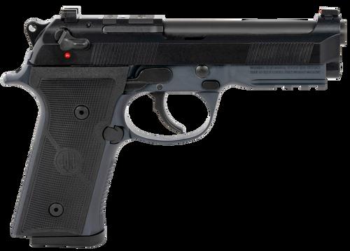 "Beretta 92X RDO FR Centurion Mid Size 9mm,4.3"" Barrel, Black, Fixed Front Sights, Manual Safety/Decocker, Front Picatinny Rail, Optic Ready, 2x10rd"