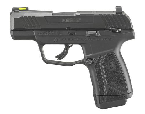 "Ruger MAX-9 9mm, 3.2"" Barrel, TFO Night Sight, Black, 10rd"