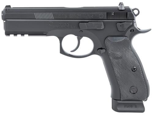 """CZ 75 SP-01 Tactical 9mm, 4.6"""" Barrel, FO Front, Ambi Decocker, Black, 18rd"""