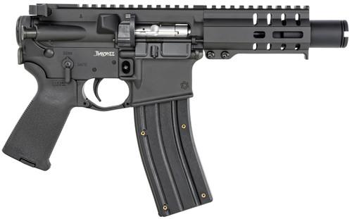 "CMMG Banshee 300 MK4 .22 LR, 4.5"" Barrel, KAK Flash Hider, M-LOK, Black, 25rd"