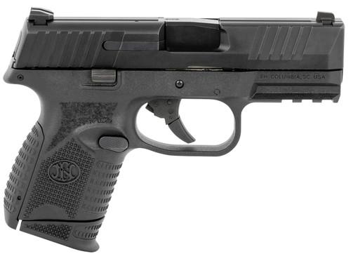 "FN 509 MRD Compact 9mm, 3.7"" Barrel, HiViz Front Sight, NMS, Black, 10rd"