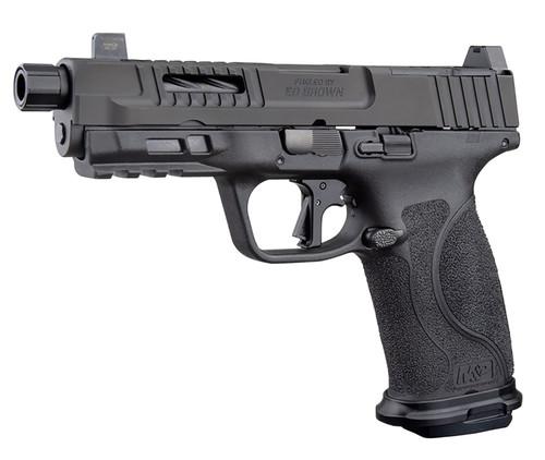 """Ed Brown Fueled M&P F1 9mm, 4.25"""" Barrel, Optics Ready, Night Sights, Black, 17rd"""