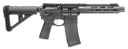 """Springfield SAINT Victor, 5.56x45mm NATO, 7.50"""" BBL, Hard Coat Anodized Receiver, Adjustable Magpul BTR Brace, Right Hand, 30+1"""
