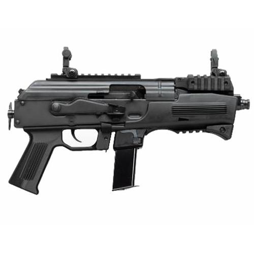 "Charles Daly PAK9 Pistol 9mm 6.3"" Matte Black 10RD"