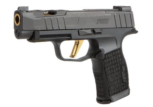 """Sig P365XL Spectre 9mm, 3.7"""" Barrel, TiN Barrel/Trigger, Black, 12rd"""
