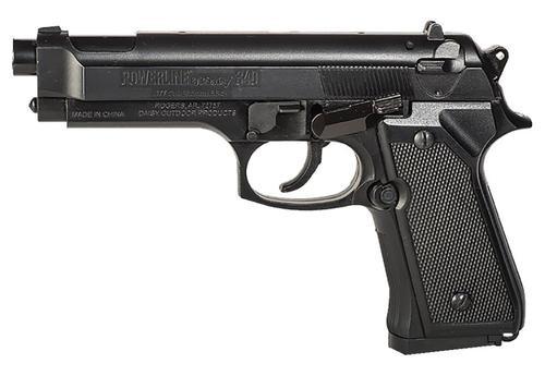 "Daisy 340, Spring-operatated Air Pistol, BB, 240 Feet Per Second, 8.5"" Barrel, Black Color, 200Rd Capacity"