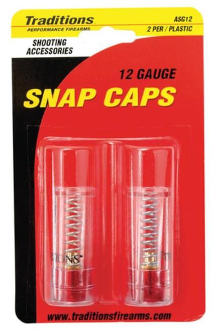 Traditions Black Powder Snap Caps Shotgun 12 Ga 2 Per Pack