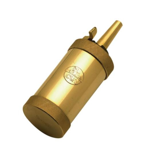 CVA Flask Black Powder Solid Brass