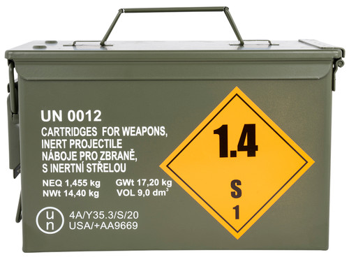 Sellier & Bellot Rifle .308 Win/7.62x51mm, 147gr, FMJ, M2A1 Can, 500 Linked Rounds