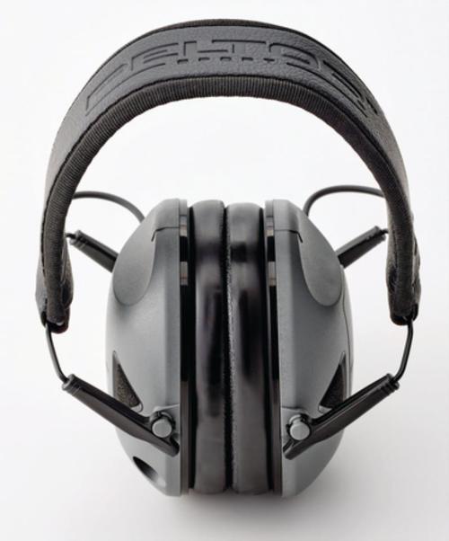 Peltor RangeGuard Electronic Folding Ear Muff Gray/Black