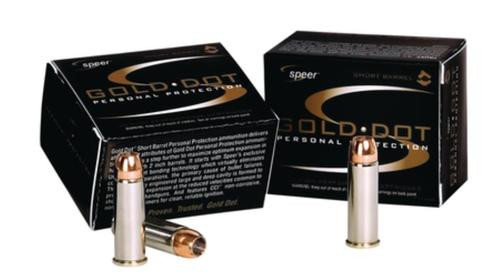 CCI Gold Dot .22 WMR 40gr, Hollow Point For Short Barrels, 50rd Box