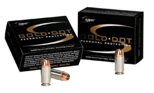 Speer Gold Dot .327 Fed Mag 100gr, Gold Dot Hollow Point, 20rd Box, 25 Box/Case
