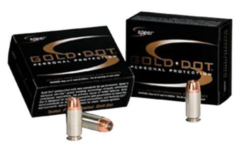 Speer Gold Dot .327 Fed Mag 100gr, Gold Dot Hollow Point, 20rd Box, 25 Box/Case