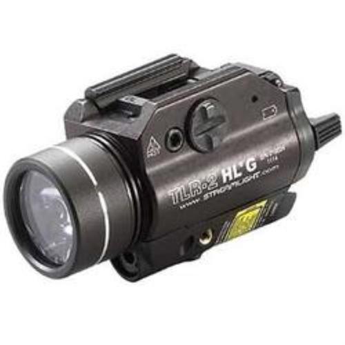 Streamlight TLR-2 HL-G 720 Lumens/530nm CR123A Lithium (2) Black