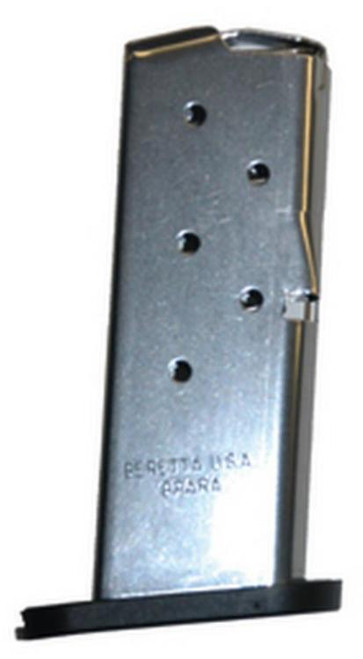 Beretta BU9 Nano 9mm 6 Rd Stainless Steel