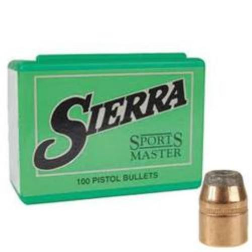 Sierra .44 Caliber .4295 Diameter, 240 Gr, Sports Master Jacketed
