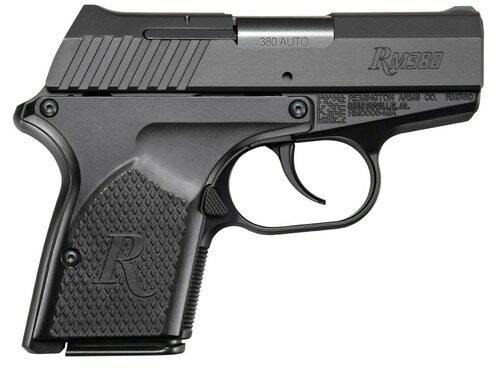 "Remington RM380 Compact Micro .380 ACP 2.9"", Black, 2x6rd Mags"