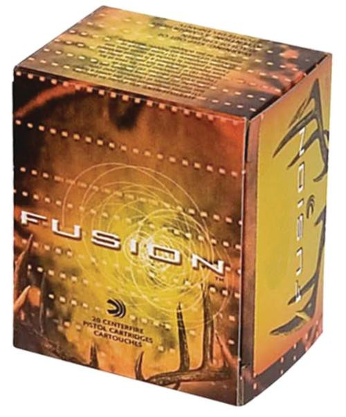 Federal Fusion Ammunition .357 Magnum 158gr, Fusion Bullet 20rd Box