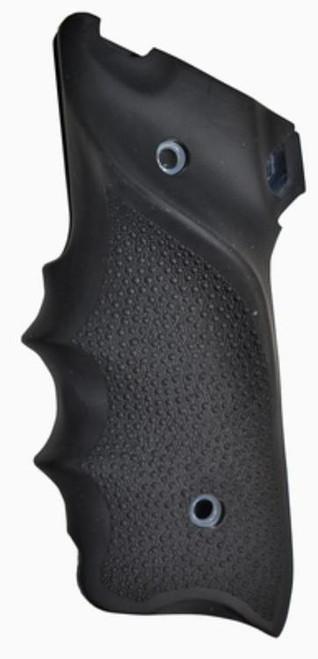 Hogue Ruger MK II/MK III Rubber Grip, Finger Grooves RH Thumb Rest Black