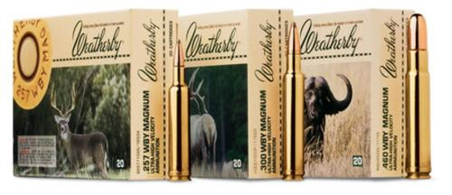 Weatherby Round Nose Soft Point 460 Weatherby Magnum 500gr, 20Rds