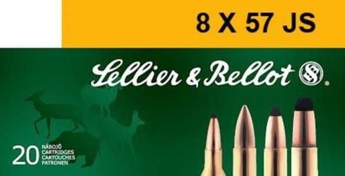 Sellier and Bellot 8X57js 196 Spce 20Rd/Box
