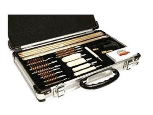 DAC Universal Deluxe Gun Cleaning Kit, Aluminum Case, 35-Piece