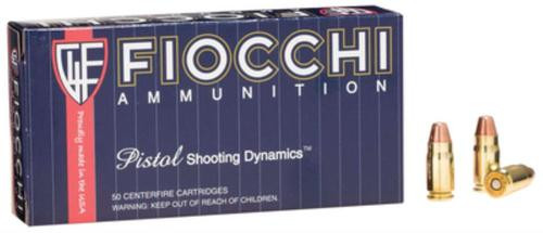 Fiocchi Shooting Dynamics .357 SIG 124gr, Full Metal Jacket 50rd Box