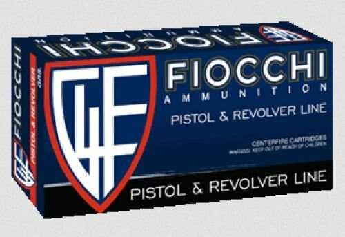 Fiocchi Pistol Shooting Dynamics 9mm FMJTC 124gr, 50rd Box