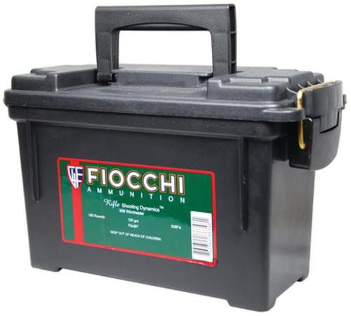 Fiocchi Shooting Dynamics .308 Winchester 150gr, FMJ, 9x20rd Boxes Per Plano Case