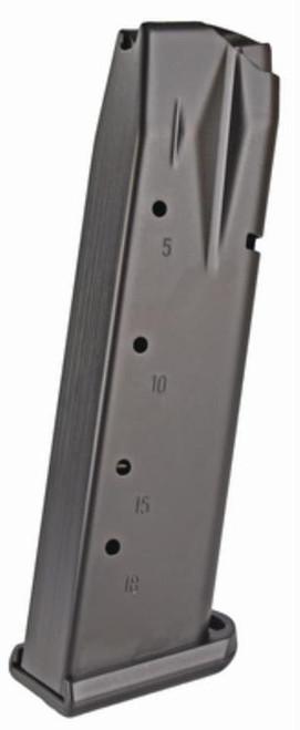 Mec-Gar Sig P226 Magazine 9mm, Flush Fit Anti-Friction Coat, 18rd