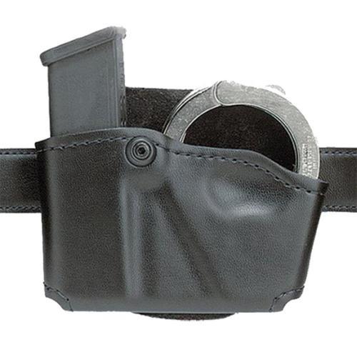 Safariland 573 Holds 1 Mag & 1 Pair Cuffs Black Suede