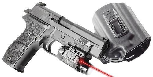"""Vir X5LR-PACK-X9, Hlstr Ruger SR9C Red Laser 5mW .50""""@50ft"""