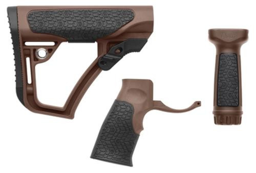 Daniel Defense Buttstock/Pistol Grip/Vertical Foregrip Combo Mil Spec+