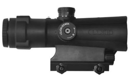 Lucid P7 Weapons Optic 4x Picatinny Rail Mount P7 Reticle Waterproof