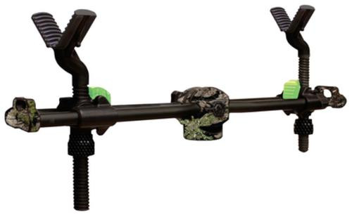 Primos, Trigger Stick, 2 Point Gun Rest, Shooting Rest, Black/Camo Color
