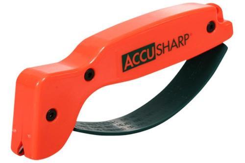 Accusharp Blaze Orange Knife Sharpener Tungsten Carbide