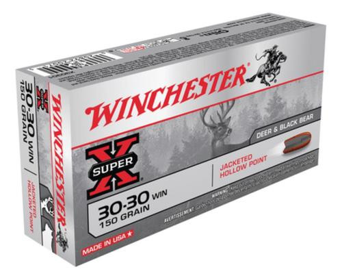 Winchester Super X 30-30 Win Hollow Point 150gr, 20Box/10Case