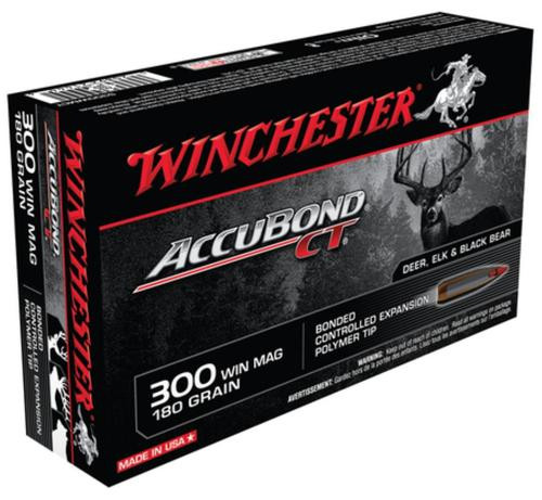 Winchester Supreme 300 Win Mag AccuBond CT 180gr, 20rd Box