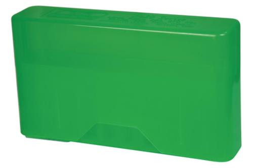 MTM Case Gard J-20 Slip-Top Boxes .270 to .375 Magnum Clear Green