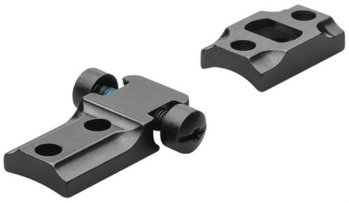 Leupold Reversible Front 2-Piece Base For Weatherby Mark V Gloss Black