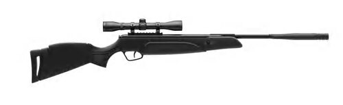 Stoeger A30 Airgun Black Synthetic Stock .177 Caliber, 4x32 Scope 1200 FPS