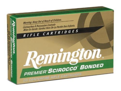 Remington Premier .300 Winchester Short Magnum 180gr, Swift Scirocco Bonded, 20rd Box