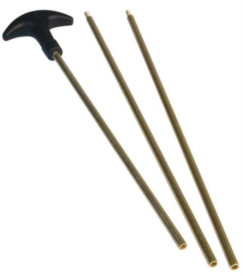 Outers Brass 3-Piece Rifle Cleaning Rods .22-.270 Caliber