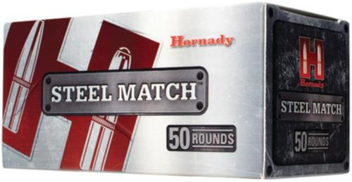 Hornady Steel Match Rifle .223 Remington 75gr, Boattail Hollow Point 50rd Box