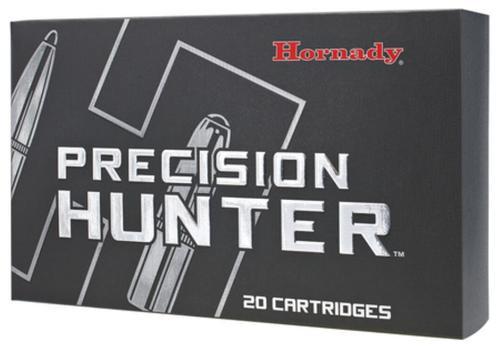 Hornady Precision Hunter Ammunition, .308 Win, ELD-X, 178 Gr, 2600 fps, 20rd Box